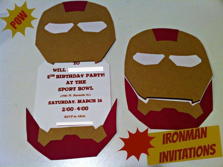 Best 25 Ironman birthday parties ideas – Iron Man Birthday Card