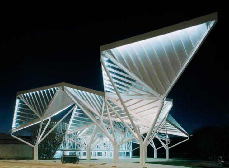 Moneo Brock Studio · Park Pavillion 'Bosque de Acero'