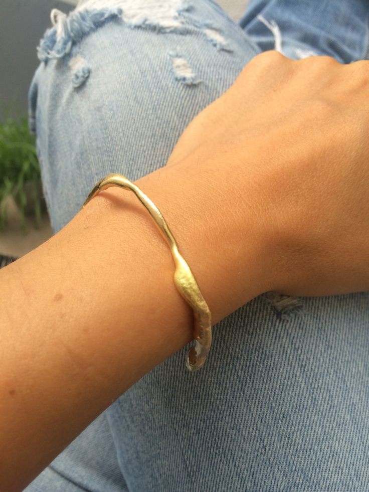 KAMICOEUR #gold #bracelet