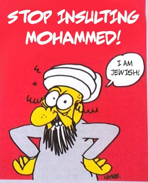 "Přestaňte urážet Mohameda. Já jsem Žid!  WikiLeaks on Twitter: ""You're not Charlie Hebdo unless you are prepared to retweet its most offensive cartoons (1/4) #iamcharlie http://t.co/ofhHFsrxGP"""