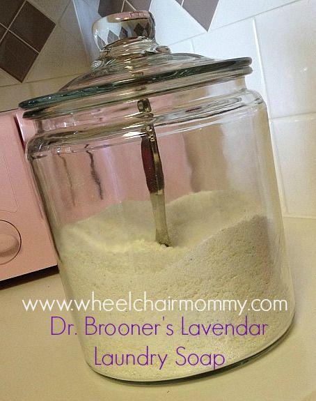 Homemade Laundry Soap - The WheelchairMommy