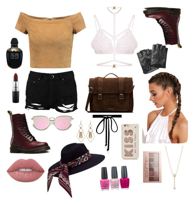 Untitled #5 by afsyara-fifa on Polyvore featuring polyvore, fashion, style, Alice + Olivia, Kamilla White, Boohoo, Dr. Martens, EF Collection, Joomi Lim, Karl Lagerfeld, Kate Spade, Lime Crime, Maybelline, MAC Cosmetics, Alexander McQueen, OPI and clothing