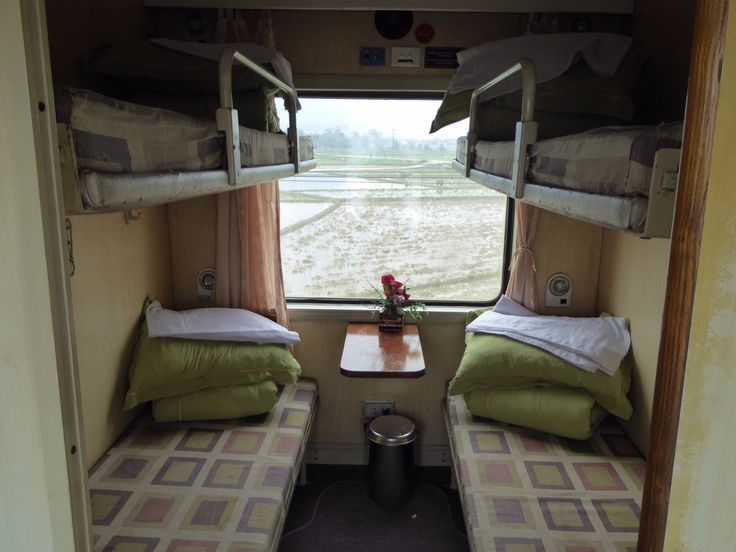 Reunification Express soft sleeper compartment