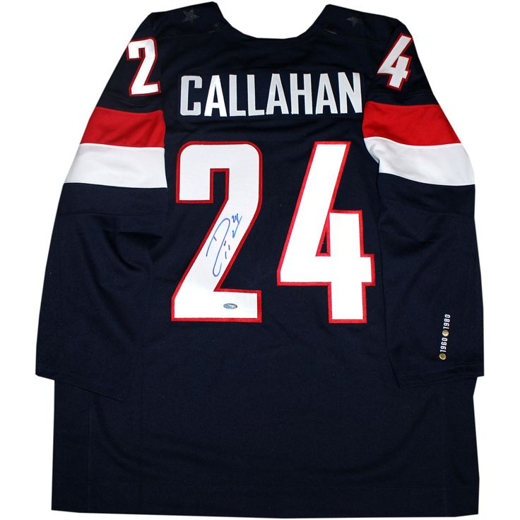 Ryan Callahan Signed 2014 USA Olympic Hockey Jersey