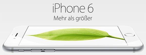 Apple iPhone 6 mit Vertrag http://www.simdealz.de/aktionen/iphone-6-mit-vertrag/