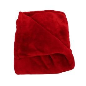 Woven Workz Oh So Soft Ruby 108-In L X 90-In W Polyester Blanket 079-114K