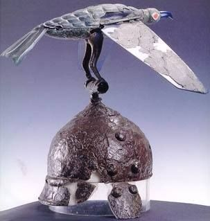 Celtic bird-helmet IV century B.C.