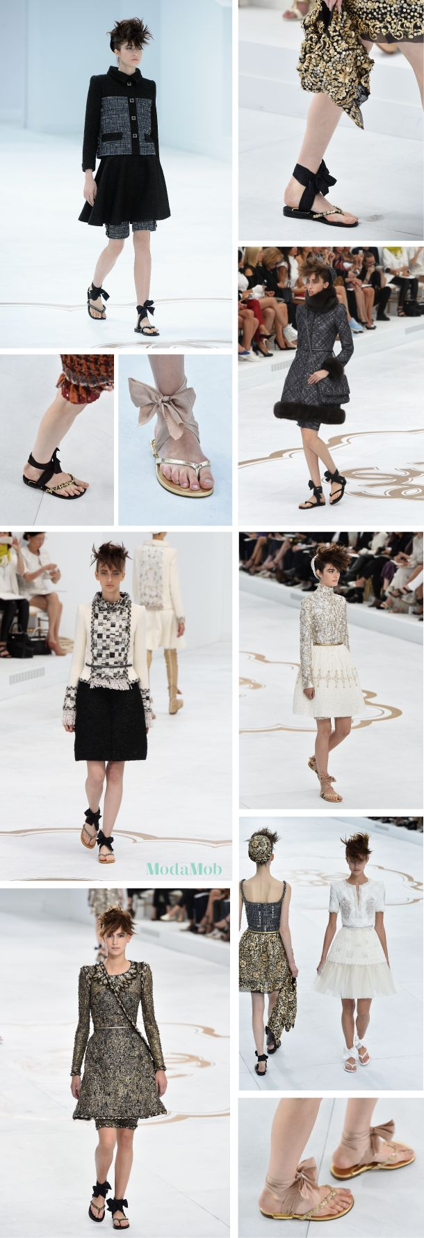 Chanel Has Flip Flops You Can Wear to Work: http://www.modamob.com/chanel/chanel-has-flip-flops-you-can-wear-work.html