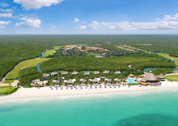 Tropical Paradise at Riviera Maya Resort in Mexico...go away!!!