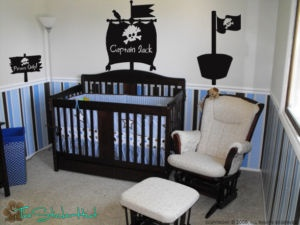 Pirate Ship Room Kit Wall Art Decor Stickers Decals 631 Baby Pinterest Nursery And