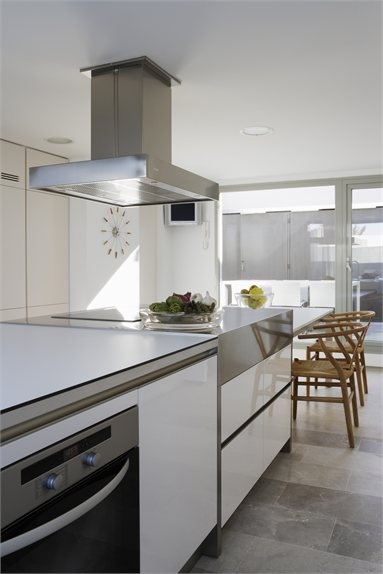 ÁTICO en U - Madrid, Spain - 2009 - ÁBATON Arquitectura #kitchen #design #interiors