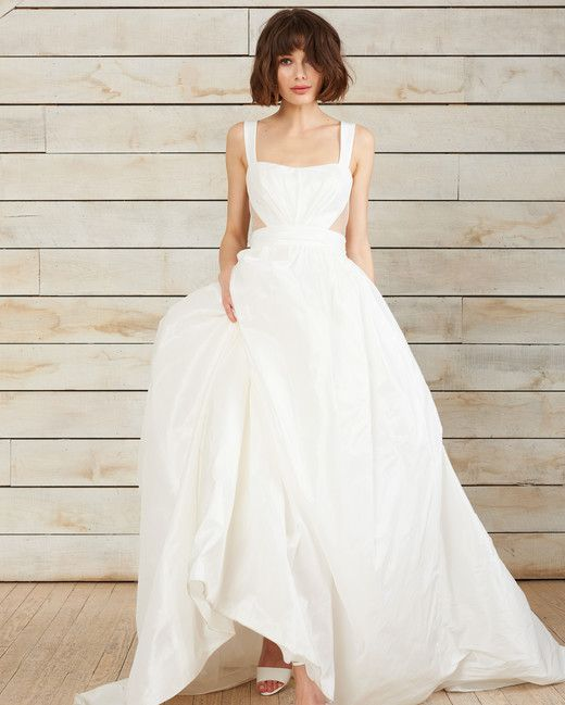 146 best ball gown wedding dresses images on pinterest for Amsale aberra wedding dresses