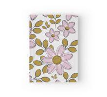 vintage floral pattern hardcover journal