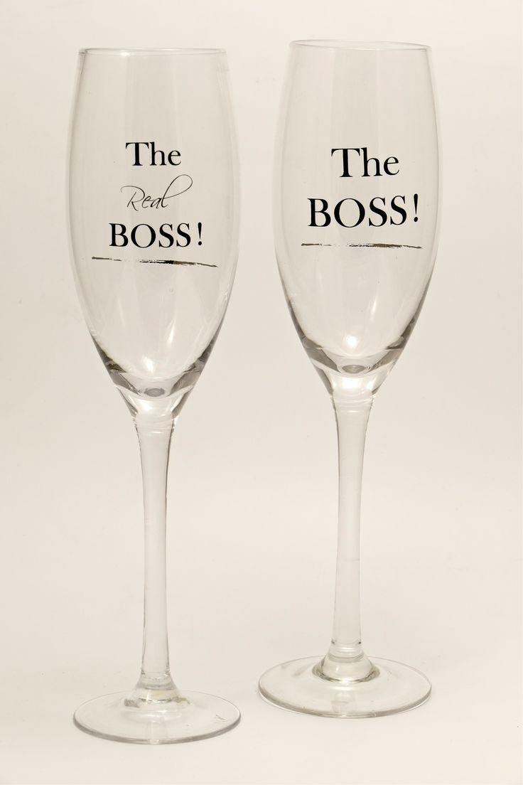 The boss, the real boss, champaign glasses, Champagner Gläser