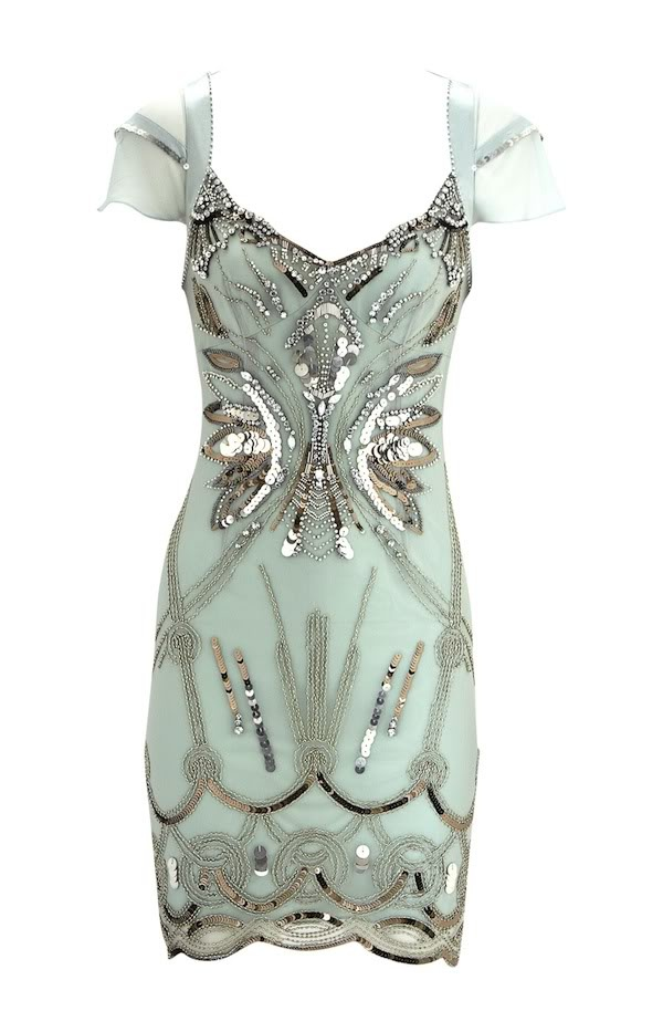 """A beautiful diamante embellished flapper #dress from @karenmillen"""