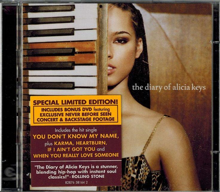 Alicia Keys-Diary of Alicia Keys DOUBLE CD/DVD