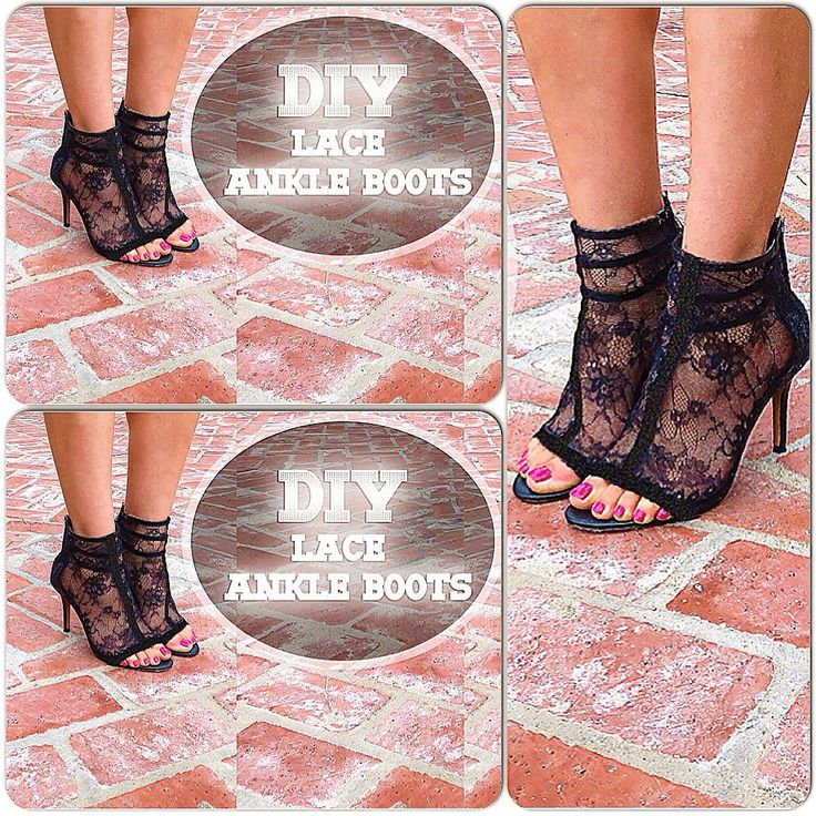 DIY video, How to revamp your heels and make lace ankle boots! Beginner level, another one of my DIY tips & tricks revealed:) Thank you for watching this vid...