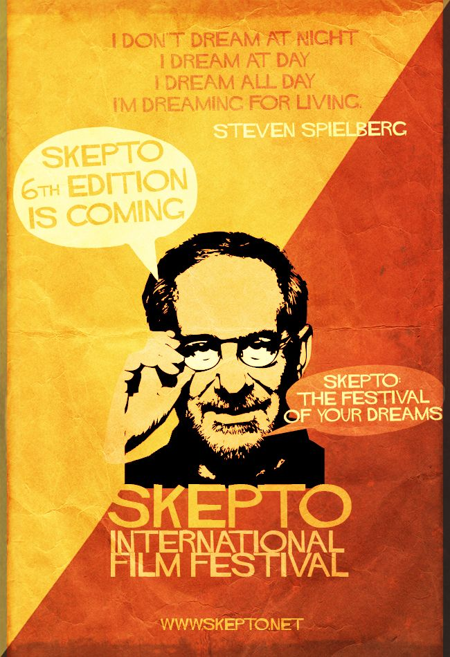Skepto Retro Poster - Director's Quotes nº5 Steven Spielberg