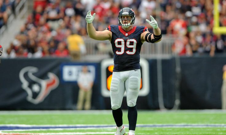 "JJ Watt a hard man to count out as 2017 Defensive POY = J.J. Watt returning to the Houston Texans with his health intact, alongside a fully developed Jadeveon Clowney, spells doom for the rest of the NFL. Houston might be rebranded as ""Sack City"" when....."