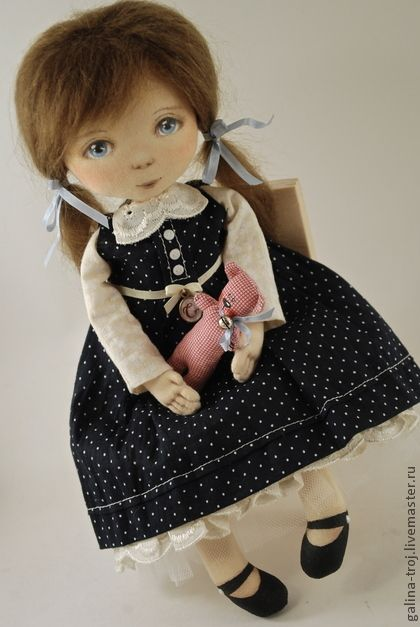 Коллекционные куклы ручной работы.  Ярмарка Мастеров - ручная работа Соня.  Ручная работа.