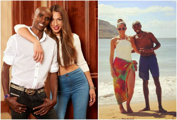 Mo Farah's wife Tania Farah