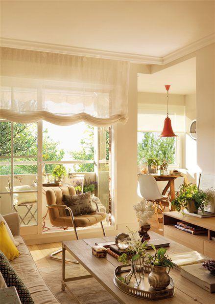 Sácale partido a tus espacios. Una casa de 80 metros muy bien aprovechada siguiendo las siguientes recomendaciones... http://ideasparadecoracion.com/una-casa-de-80-metros-muy-bien-aprovechada/