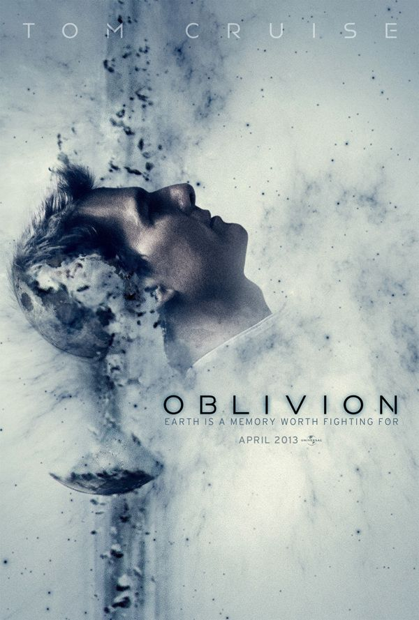 Oblivion movie poster by Dang Nguyen