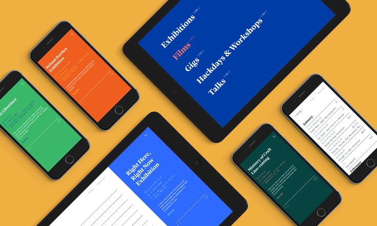 `See+Do website on a collection of iPads and iPhones