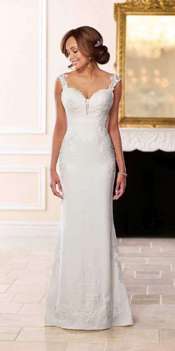 Wonderful Stella York Wedding Dresses For 2018 ★ See more: https://weddingdressesguide.com/stella-york-wedding-dresses/ #bridalgown #weddingdress