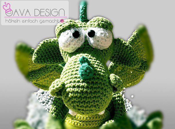10 best Drachen blau images on Pinterest   Drachen, Häkeltiere und ...