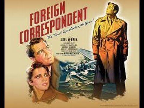 Foreign Correspondent (1940) with Laraine Day, Herbert Marshall, Joel Mc...