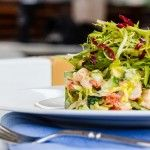 Рецепт салата с креветками, грейпфрутом и авокадо |FOODIKA - ФУДИКА