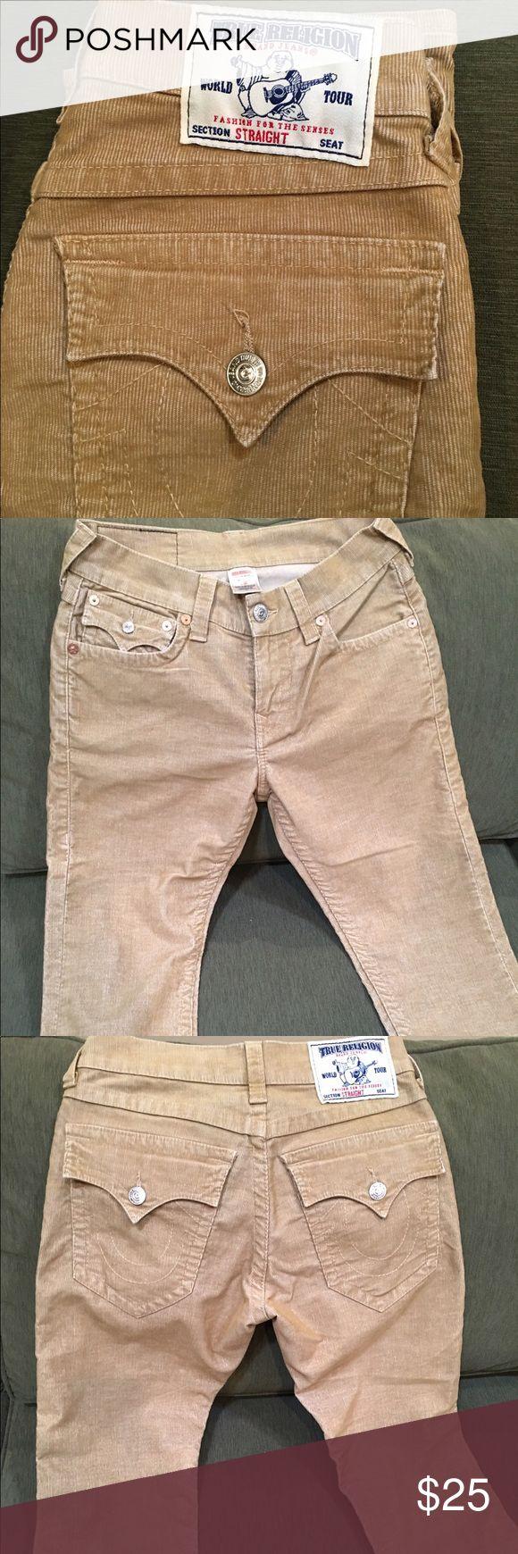 True Religion Corduroy Pants (Men's) Excellent condition. Men's corduroy True Religion waist 30 length 30. True Religion Pants Corduroy