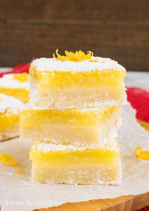 Best Lemon Bars FoodBlogs.com