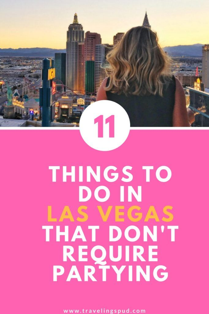 11 Fun Things to Do in Las Vegas That Don't Require Partying - The Traveling Spud