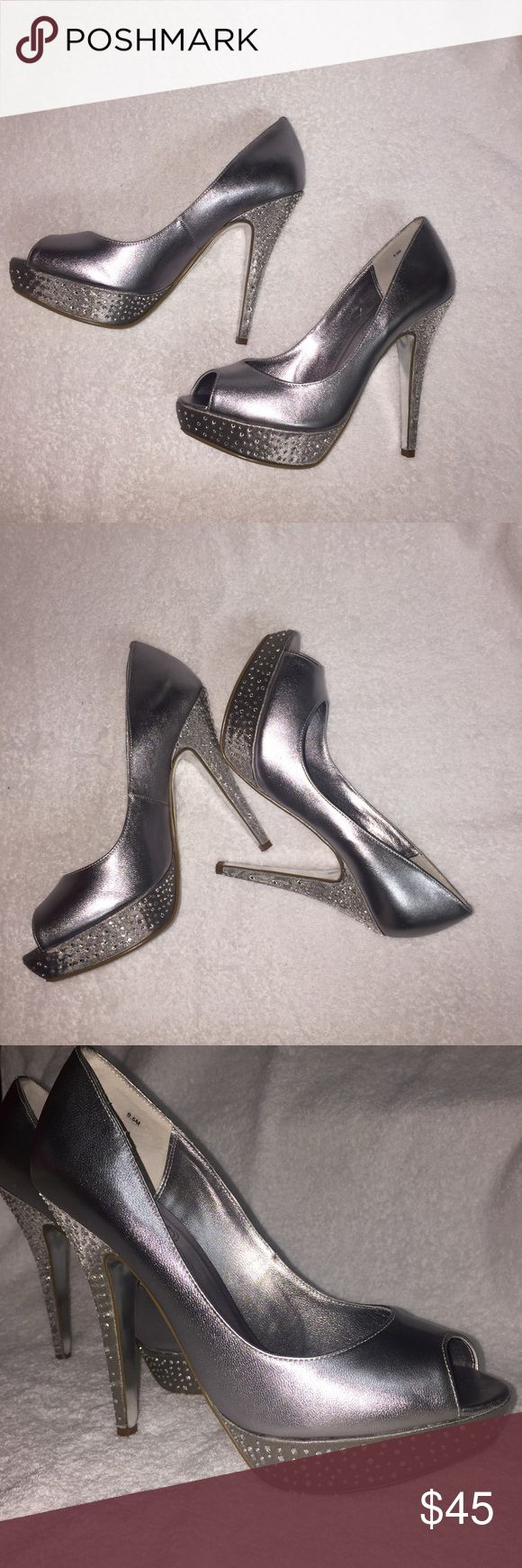 Spotted while shopping on Poshmark: Mariah Carey Peep toe Pumps ❣️! #poshmark #fashion #shopping #style #Mariah Carey  #Shoes