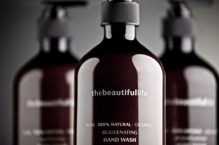 thebeautifullife - Rejuvenating Hand Wash with Organic Mandarin, Cedarwood & Orange