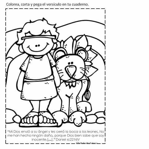 Dorable Daniel Y La Guarida De Los Leones Embellecimiento - Páginas ...