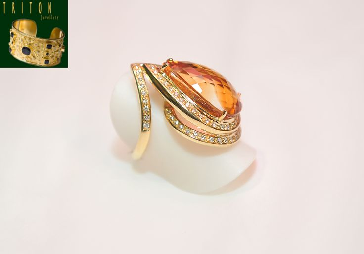 Yellow gold ring (Ref: 20084) For more information: http://www.tritonjewellery.com/modern-yellow-gold-ring-20084.html