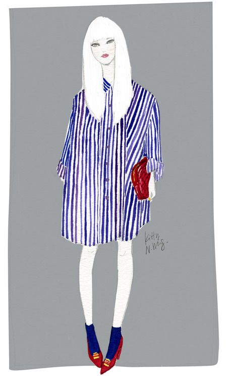 kittynwong fashion illustration