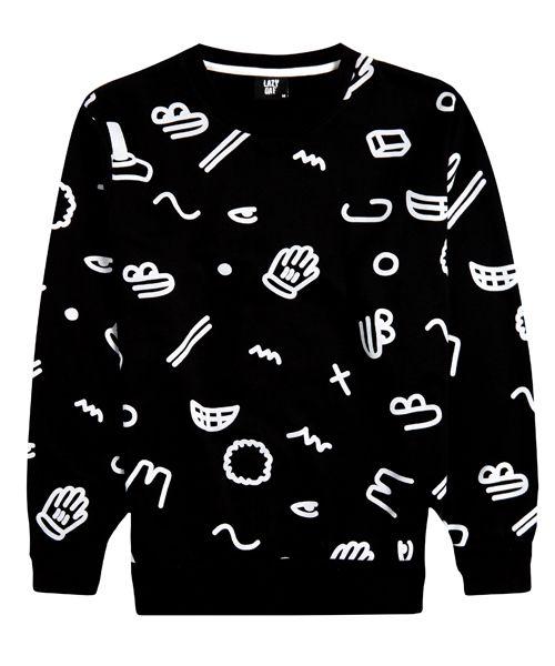 bits + bobs pullover | lazy oaf