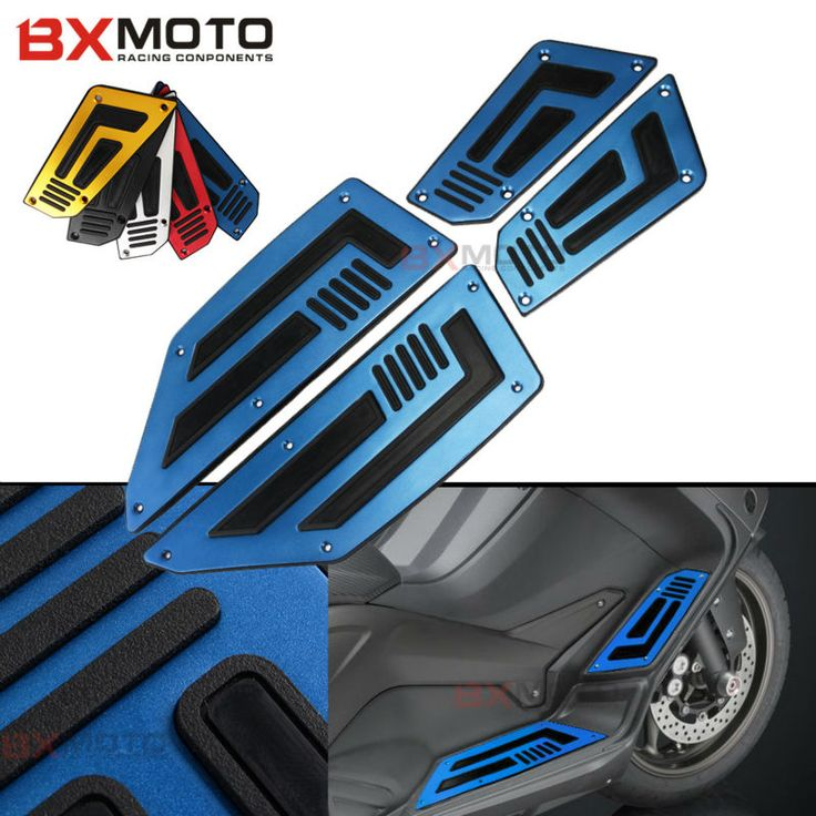 ==> [Free Shipping] Buy Best Blue One set Front and Rear Motorbike Footrest Step Motorcycle Pedals Foot Pegs For Yamaha TMAX T-max 530 Motorcycle Parts Online with LOWEST Price | 32709073790