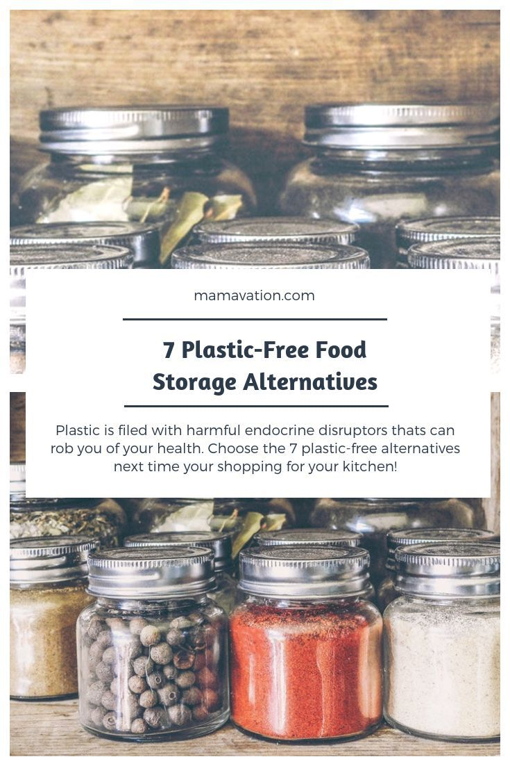 7 Plastic Free Food Storage Container Ideas To Use Around The