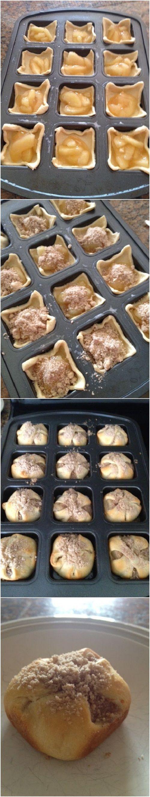 Mini Apple Pies Recipe - (pamperedchefbymeganbalaban.blogspot)