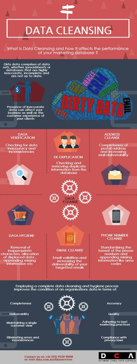 Data Cleansing Infograph