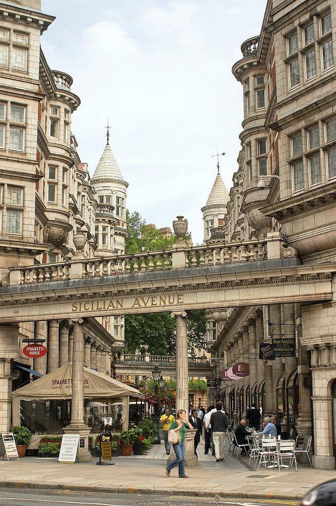 Sicilian Avenue, London, UK