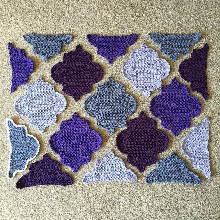 Just have to finish edging them all in white and I can stitch them together! I…