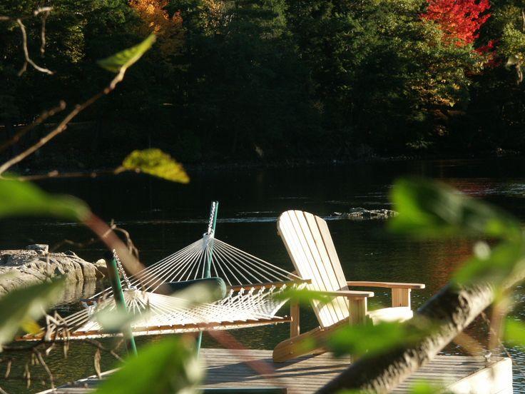 deluxe rope hammocks, Muskoka / Adirondack chairs
