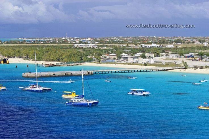 dock at grand turk island turks and caicos