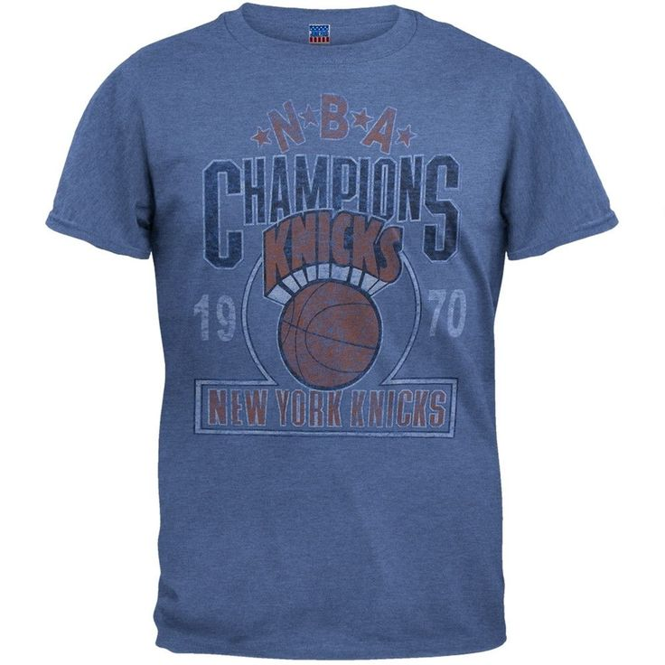 New York Knicks - Classic Logo 70 Champs Soft T-Shirt